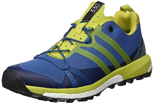 adidas Terrex Agravic, Scarpe da Escursionismo Uomo, Blu (Azubas/Limuni/Vertac), 40 EU