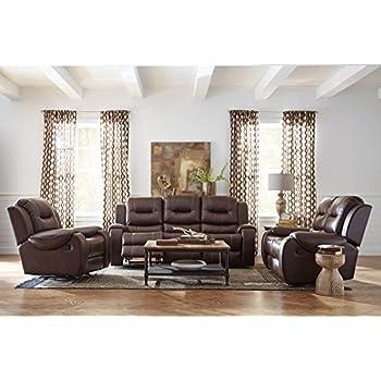 Amazon Com Simmons Upholstery Zephyr 3 Pc Sofa