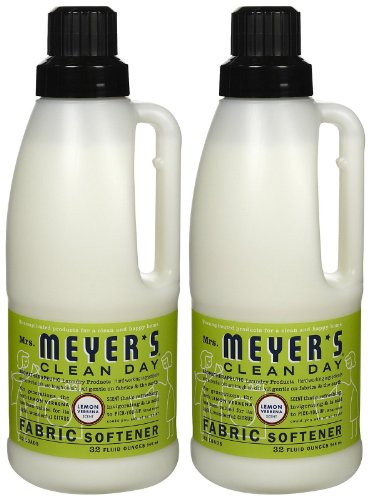 Mrs. Meyer's Clean Day Fabric Softener - Lemon Verbena - 32 oz - 2 (Lemon Verbena Fabric Softener)