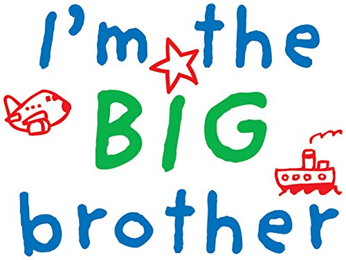 (Uptown Baby Color Iron-On Transfers 2/Pkg-I'M The Big Brother)
