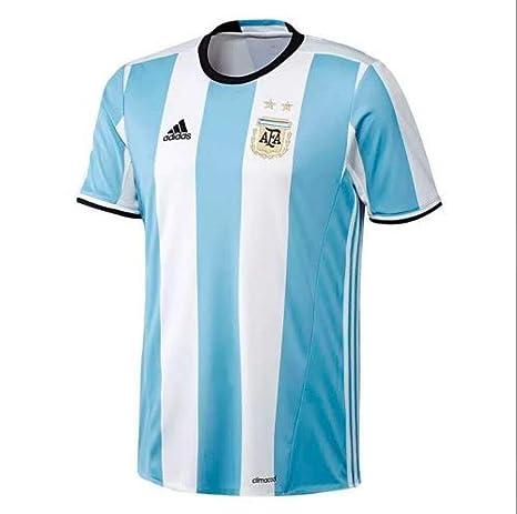 9adb62fda2372 adidas Argentina Camiseta 2016 17 Home  Amazon.es  Deportes y aire libre