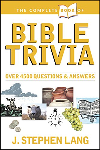 Complete Book Of Bible Trivia - Orange Mall Stores Of