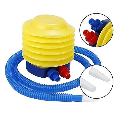 lyhopes 2pcs esencial inflable flotador juguete Bomba de pie/inflador de aire bomba para inflar globos natación Anillo Yoga pelota colchón inflable juguete: ...