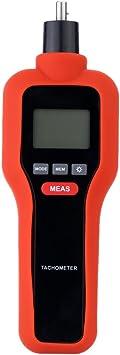 KKmoon 2 en 1 tacómetro láser digital sin contact & Contact, Tach ...