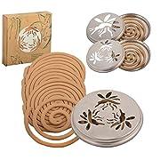No Label Esschert Design 8208100Zitronengras-Spiralen, 10Ersatz-Spiralen