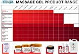 Platinum Massage Gel Powder & Bowl Set of 5 x