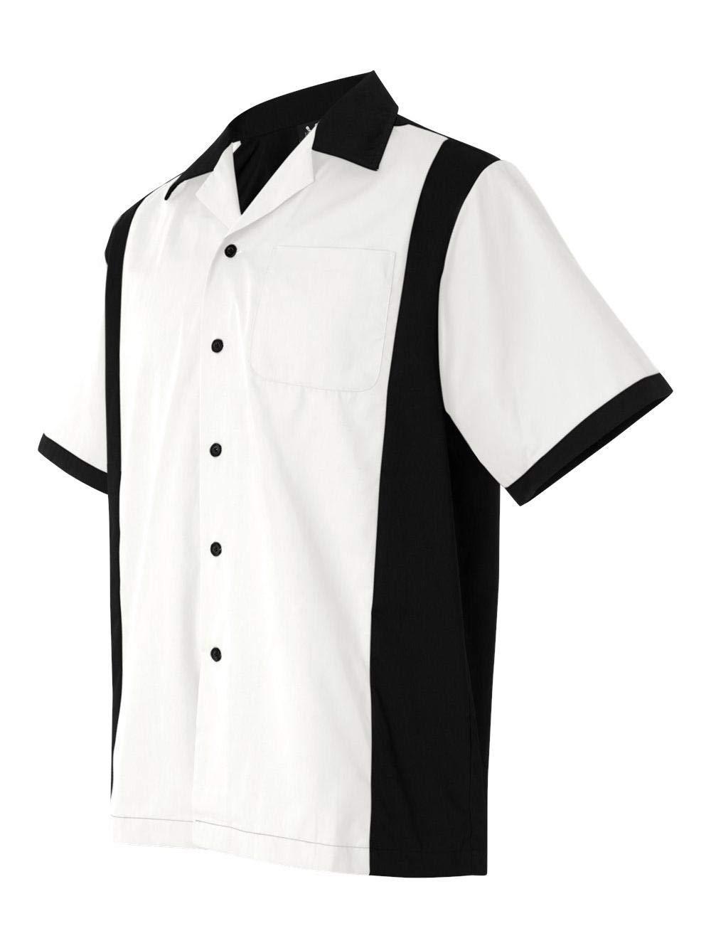 Hilton HP2243 - Cruiser Bowling Shirt White by Hilton