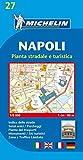 Michelin Map Naples (Napoli) #27 (Maps/City (Michelin)) (Italian Edition)