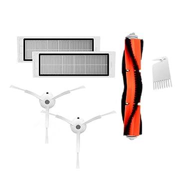 Shuzhen,Filtros de Cepillo Principal Limpiador Accesorios de cepillos Laterales para Robot Aspirador XIAOMI MI(Color:Multi): Amazon.es: Electrónica