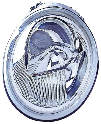 Depo 341-1104L-ASD Volkswagen New Beetle Driver Side Replacement Headlight (Volkswagen Beetle Headlight Lh Driver)