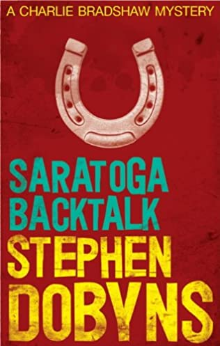 book cover of Saratoga Backtalk