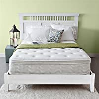 Priage Spring 12 Euro Box Top Mattress, Twin, White