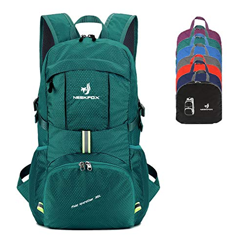 NEEKFOX Packable Lightweight Hiking Daypack 35L Travel Hiking Backpack for Women Men ()