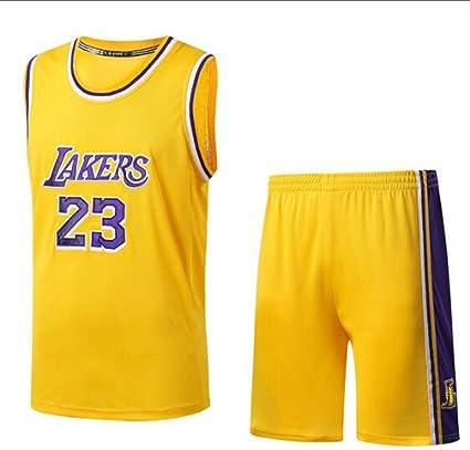 MMADD Lakers Camiseta con el número 23, James, Vestido de ...