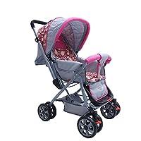 Notty Ride Baby Pram (Pink)