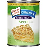 Comstock More Fruit Pie Filling or Topping, Apple, 21 Ounce (Pack of 12)