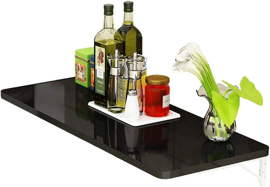 壁掛けテーブル - 折り畳み可能な家庭用壁掛けコンピュータデスク、黒(サイズ:60/70/80 / 100CM) ## (サイズ さいず : 80x40cm)