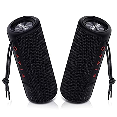 Xeneo X21 Portable Wireless Speaker Waterproof With TWS, FM radio, Micro SD card MP3 Player for Outdoor