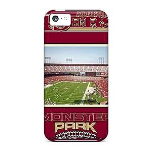 New Premium Flip Case Cover San Francisco 49ers Skin Case For Iphone 5c