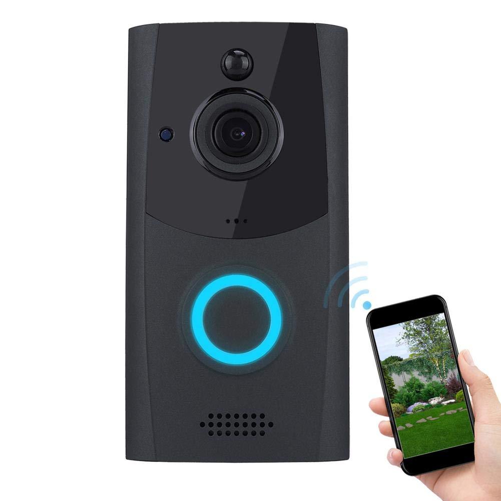 720P Video Doorbell Wireless WiFi Doorbell Smart Video Intercom Door Phone Intercom Security Camera by Dioche