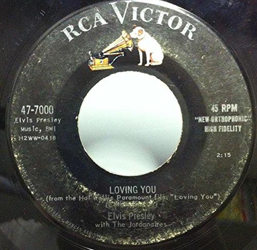 Elvis Presley - Elvis Presley Loving You / Let Me Be Your Teddy Bear 45 Rpm Single - Zortam Music