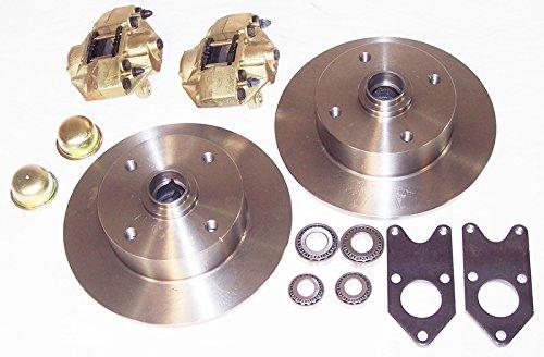 EMPI 22-2986-0 VW Link Pin Style Bolt-On Disc Brake Kit, (Bolt 4 Link)