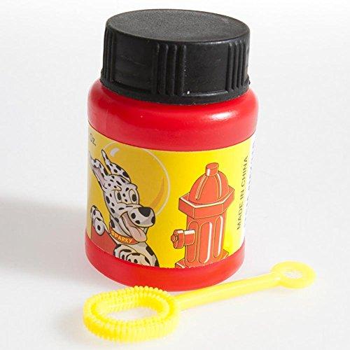 U.S. Toy Fire Fighter Bubble Bottles