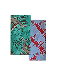 Unisex Bandana Duo Miami Ink Sharks/Logo 22 Inch