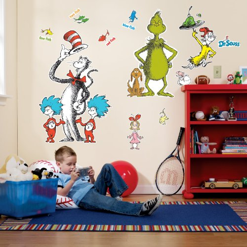 Dr. Seuss Giant Wall Decals ()