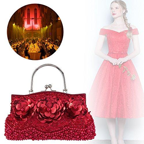 femme Pochette Bagood red Bagood Pochette pour z8BqUWwR