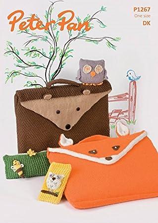 Peter Pan Animal Buch Taschen, Federmäppchen, Handy Cover & Eule ...