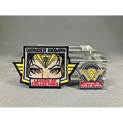 Legion of Collectors Wonder Woman Pin and Patch: Toys & Games