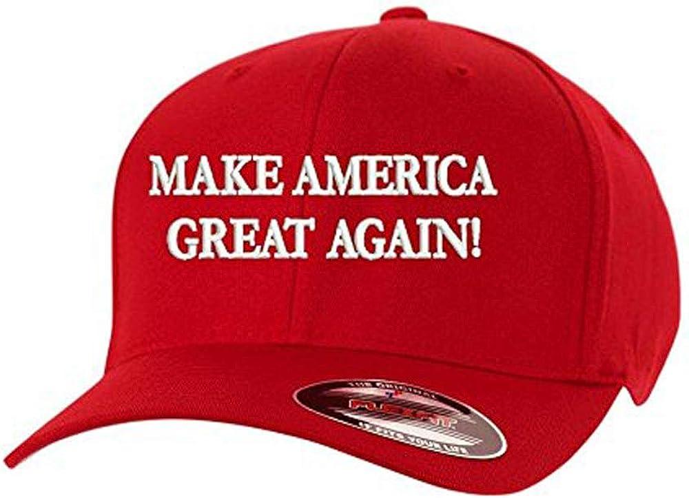 American Flag USA Adjustable Flat Baseball Cap Donald Trump Hat,Make America Great Again Hat