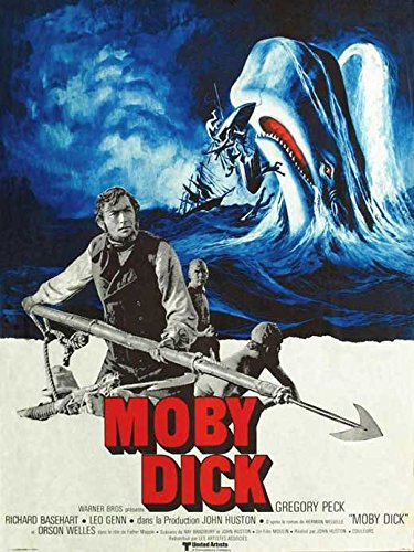 Moby Dick - Movie Poster