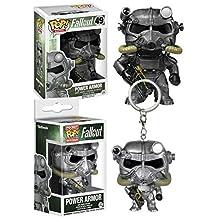 Funko POP! Fallout: Power Armor + Pocket POP! Power Armor - Vinyl Figure Set NEW
