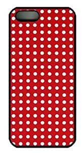Abstract Art Red DIY Hard Shell Black iphone 5/5s Case Perfect By Custom Service