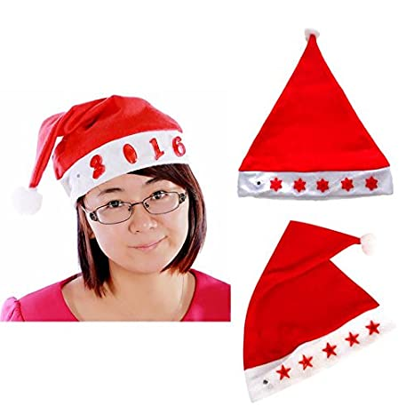 863f4176ce917 Buy Generic B : Christmas Hat LED Flashing Light Christmas Party ...