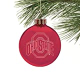 Ohio State Buckeyes Laser Light Ornament