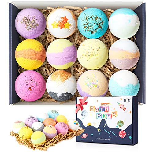 Bath Bombs,12 Pcs Bath Bombs Gift Set for Bath & Body Works, for Bubble & Spa Bath, Bath Bomb for Lovers,Friends