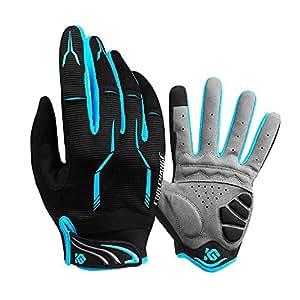 Amazon.com : Cool Change Full Finger Bike Gloves Unisex