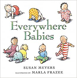 Cover Image for Everywhere Babies By Susan Meyers