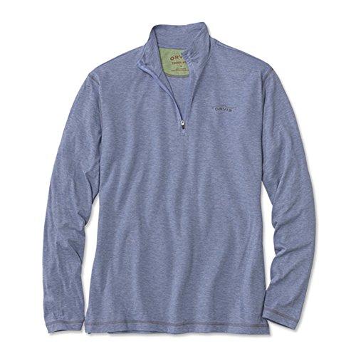 Orvis Drirelease Long-sleeved Zipneck Casting Shirt