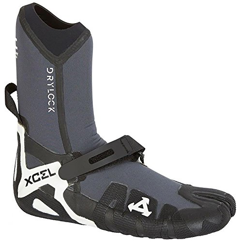 Xcel 5mm Drylock Split Toe Wetsuit Boots 2018 UK 6 by Xcel