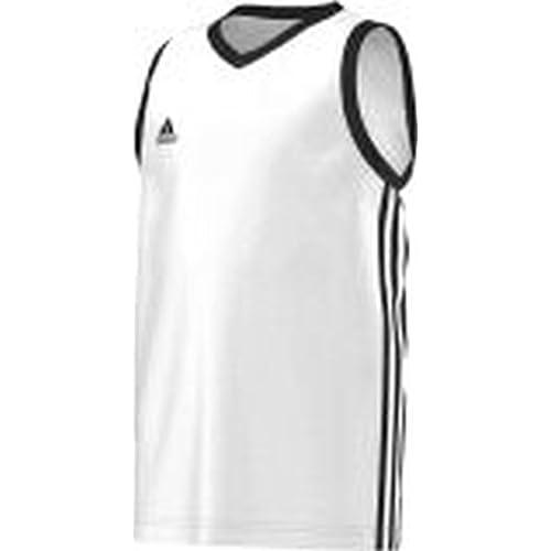 Adidas Y Commander J - Camiseta para niño, Color Blanco/Negro, Talla 164