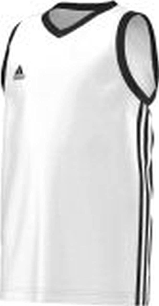 adidas Commander Jersey Kinder Tank Top Basketball Trikot Weiß Teambekleidung