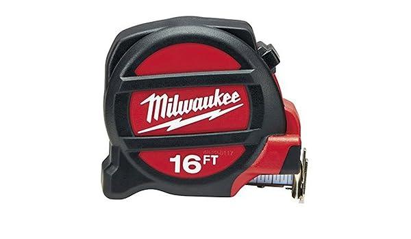 Milwaukee Elec - Herramienta 48 - 22 - 5117 cinta métrica, 16