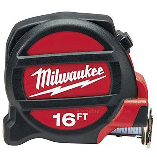 MILWAUKEE ELEC TOOL 48-22-5117 Tape Measure, 16'
