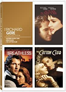 Richard Gere Triple Feature (Autumn in New York / Breathless / The Cotton Club)