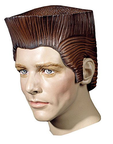 Costume-Wig Crewcut Rubber Wig Halloween Costume - 1 size (Crewcut Rubber Wig)