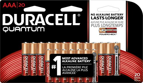 Duracell Quantum Alkaline Batteries  Aaa 20 Pack